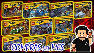 COMPRAS DEL MES Lego Batman Movie Set para Review Haul Lego