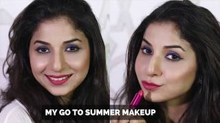 My Go To Summer Makeup Look | Quick & Easy