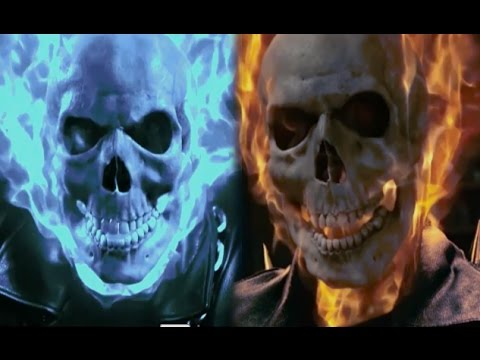 Ghost Rider vs Angel Rider ☠️ Fight Scene HD