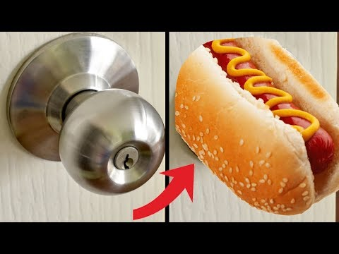 How To Replace a Door Knob With a Hot Dog