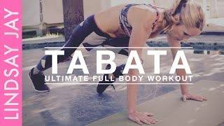 Tabata - Full Body | Ultimate 4 Minute Workout
