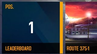 "Asphalt 8- Route 375-1 Cup ""01:01:545"" McLaren Mercedes MP4-25"