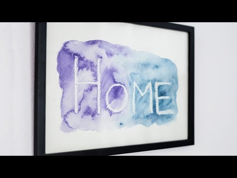 DIY : Play with watercolour by Søstrene Grene