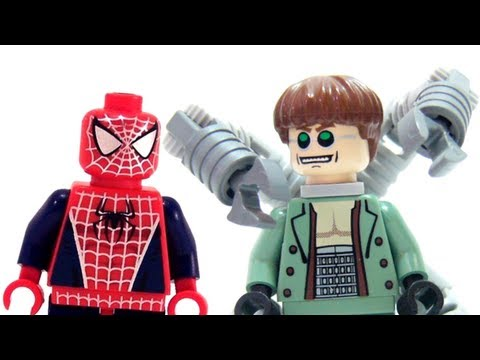LEGO 4856 Doc Ock's Hideout LEGO Spider-Man 2 Marvel Super Hero Review