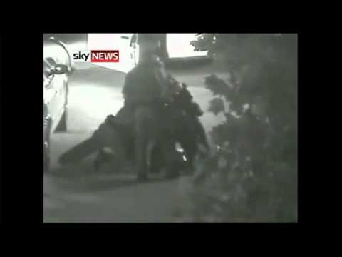 CCTV footage of police beating Kelly Thomas shown in Court