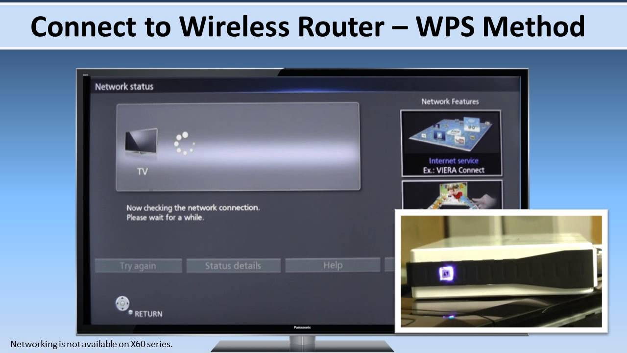 Panasonic 2013 Viera Connection To Devices And Wi Fi Youtube