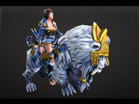 Dota 2 Store - The Moon Rider Set Mirana
