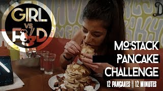 UNDEFEATED PANCAKE CHALLENGE | Crepes & Cones| Girl vs Food