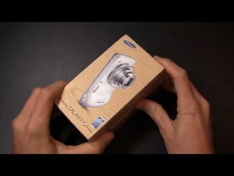 Samsung Galaxy S4 zoom Unboxing