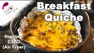 How to Make a Low Carb Quiche in an Air Fryer