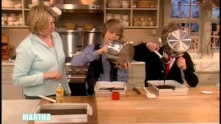 Festive Halloween Brownies⎢Cole and Dylan Sprouse⎢Martha Stewart
