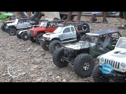 3rd RocK Crawlers Adventure - Part 1 - Axial SCX10. Wraith. Tamiya CR-01 Jeep. Twin Hammer