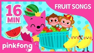 Pinkfong Fruit ABC and more | Fruit Songs | +Compilation | Pinkfong Songs for Children