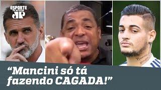 """Vampeta DEFENDE Jean e DISPARA: """"o Mancini só tá fazendo CAGADA no São Paulo!"""""""