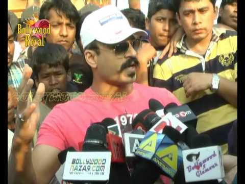 Vivek Oberoi at the 'Swachh Bharat' initiative with CPAA Cancer Patients