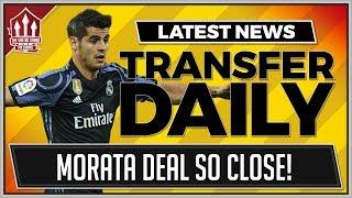 Alvaro MORATA to MANCHESTER UNITED for 70 Million! MUFC Transfer News