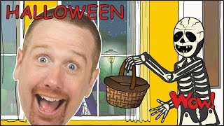 Halloween Trick or Treat Story | Halloween Candy from Steve and Maggie | Wow English TV