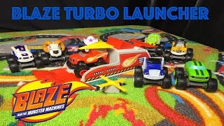 Blaze and the Monster Machines Blaze Turbo Launcher