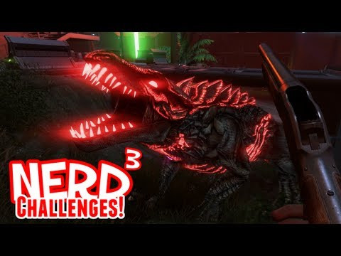 Nerd Challenges! Kill a Dragon - Far Cry 3: Blood Dragon
