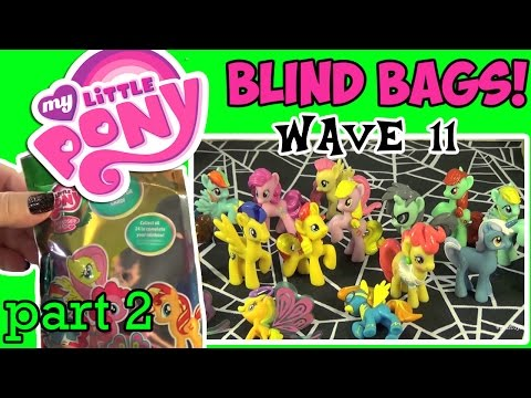 My Little Pony Blind Bags Wave 11 Breezies Full Case Opening - Pt. 2! by Bin's Toy Bin