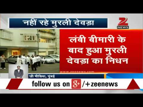 Senior Congress leader Murli Deora passes away in Mumbai