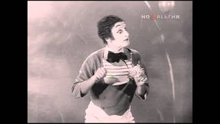 Marcel Marceau, mime / Pantomime / пантомима, 1966