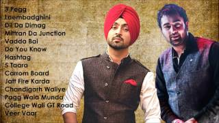 Best of Diljit Dosanjh & Sharry Maan | Audio Jukebox | Latest Punjabi Songs Collection
