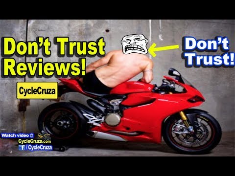 Why You Can't Trust Some Motorcycle Reviews (MotoVloggers)   MotoVlog
