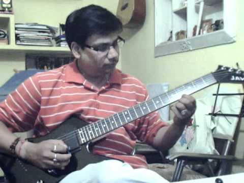 Bahon ke darmiyan solo on guitar