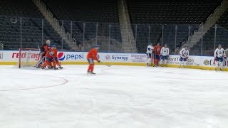 PRACTICE | Monday at Rogers Place