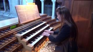 Bach Concerto en La mineur pour 4 clavecins BWV 1065 Pascale Mélis à l'orgue St. Clodoald St. Cloud