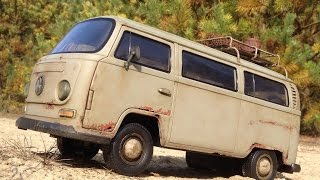 VW Transporter T2 (Dickie 1:14 Toy) - Rusty RC car