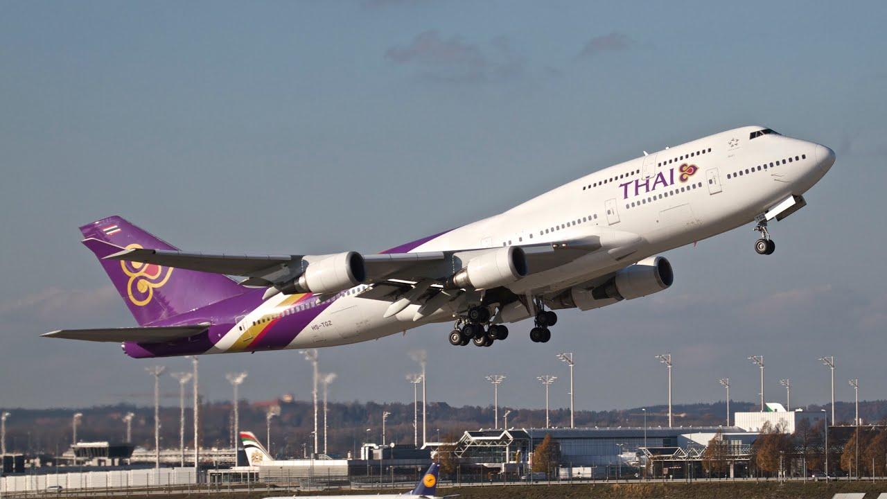 Boeing 747 Thai Airways Thai Airways Boeing 747-4d7