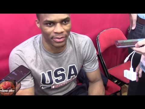 Russell Westbrook on Derrick Rose not coming to the USA mini camp HoopJab