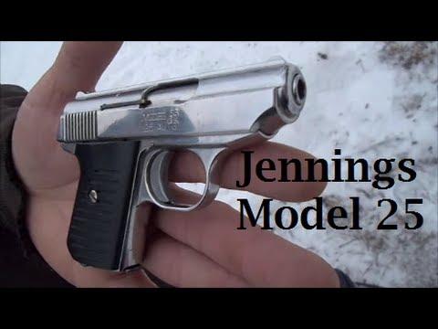 Jennings .25 AUTO Pistol!
