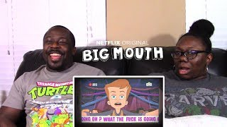 Big Mouth 1x1 Netflix Orig Series | REACTION!!