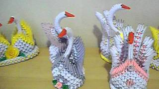 3d Best Origami And Swans
