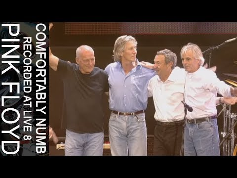 Pink Floyd - Comfortably Numb (Recorded at Live 8) streaming vf