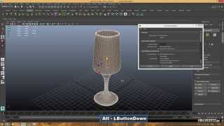 Уроки Autodesk Maya. Делаем бокал