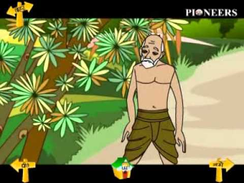 Moral Story - God Is Great - Gujarati - Animated Story video