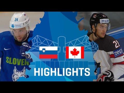 Slovenia - Canada | Highlights | #IIHFWorlds 2017