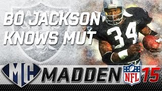 Madden Ultimate Team - Bo Jackson knows MUT (Rookie Legend)