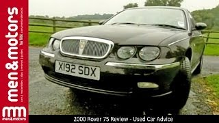 2000 Rover 75 Review - Used Car Advice