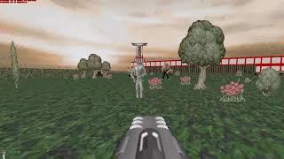 DOOM MOD HACKX HACK X IWAD MAP 08 Banjo Software Graham Burgess GZDOOM GLITCHES NEEDS OWN PROGRAM