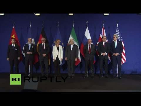 LIVE: Zarif, Mogherini speak to press following Iran nuclear talks
