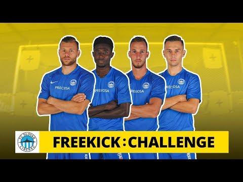 Freekick Challenge v Liberci: A síť se taky počítá? Ne, jo? Škoda...