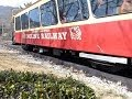 Lookout Mountain Incline Railway side view Full Ride - Chattanooga, TN