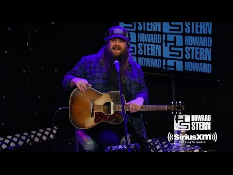 Chris Stapleton Shows Off His Trusted Guitar and Talks Recording