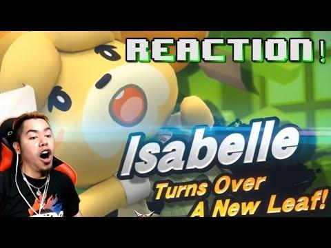 Smash Bros. Ultimate - Isabelle REVEAL REACTION | HMK