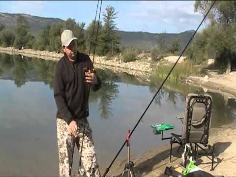 Мастер класс как ловить рыбу на фидер видео